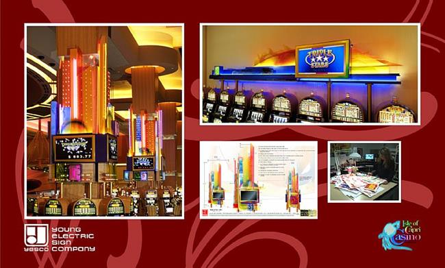 Art: Displays for Isle Of Capri Casino by Artist Kathy Morton Stanion