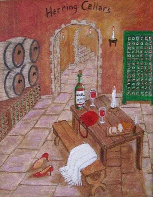 Art: Gail's Private Cellar (Commission) by Artist Fran Caldwell