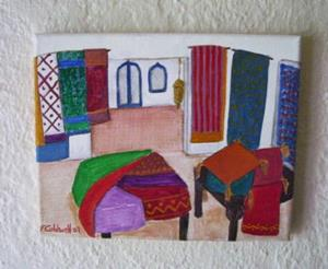 Detail Image for art The Bazaar (SOLD)