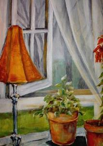 Detail Image for art Foggy Morning - SOLD
