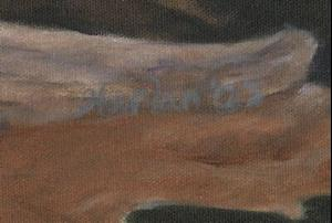 Detail Image for art One Orange Leaf