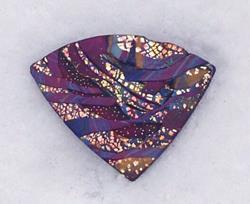 Art: Polyclay Pin by Artist Harlan