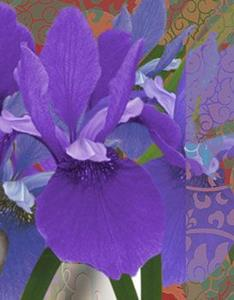 Detail Image for art Iris Reclines