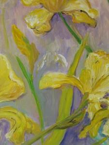 Detail Image for art Grandma's Iris