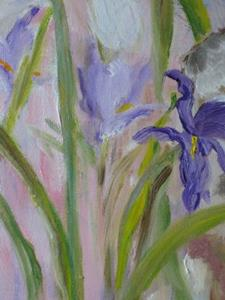 Detail Image for art Bunny in the Iris