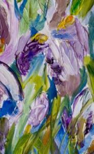 Detail Image for art Iris 2-sold