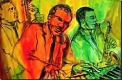 Art: Jammin' in New Orleans - SOLD by Artist Diane Millsap