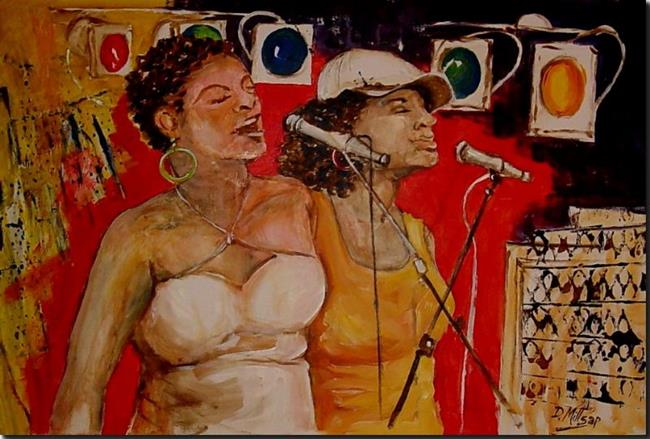Art: Soul Sisters by Artist Diane Millsap