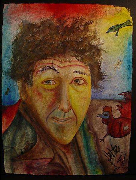 Homage to Marc Chagall - by Jovon Vitella from Portraits ...