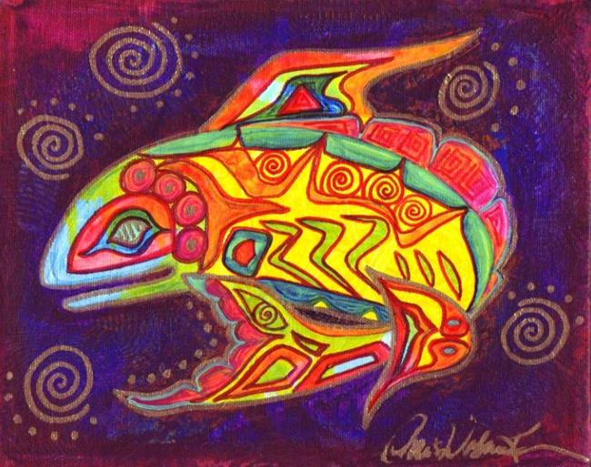 Art: Night Moves by Artist Christine Wasankari