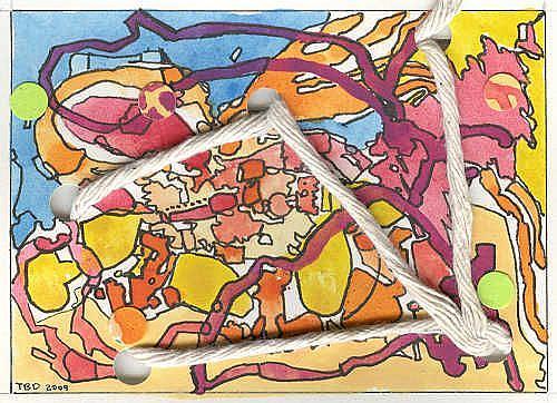 Art: MALICE MALICE MALICE MALICE MALICE by Artist Theodora Demetriades