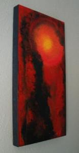 Detail Image for art FIRE IN THE SKY  (SOLD)