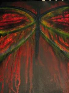 Detail Image for art  WINGS OF FREEDOM  (SOLD)