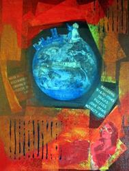 Art: SITTING ON TOP OF THE WORLD by Artist Jaime Zatloukal Best