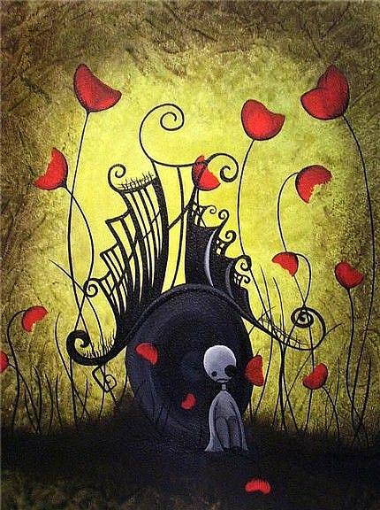 Art: Feeling small by Artist Jaime Zatloukal Best
