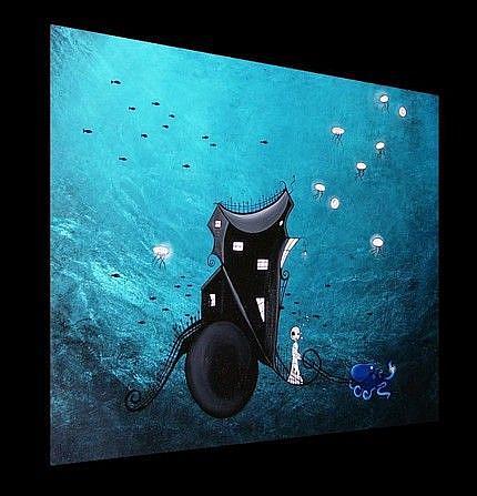 Art: At the bottom of the sea by Artist Jaime Zatloukal Best