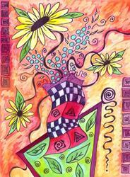 Art: Lets Dance by Artist Christine Wasankari