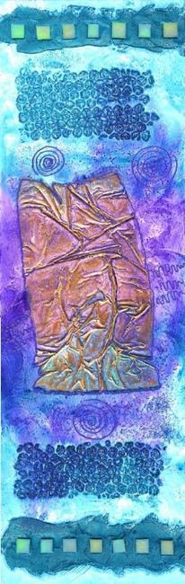 Art: Clallam Bay V ~ From the Impressions Series by Artist Christine Wasankari