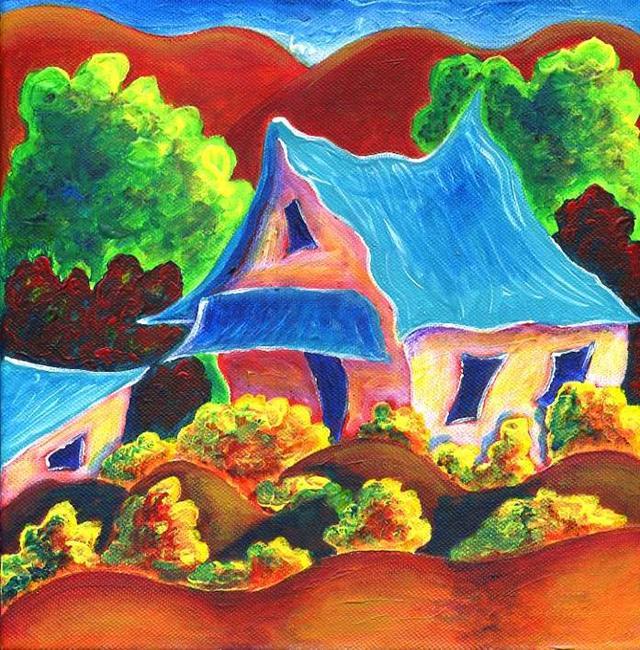Art: High Road 2 by Artist Christine Wasankari