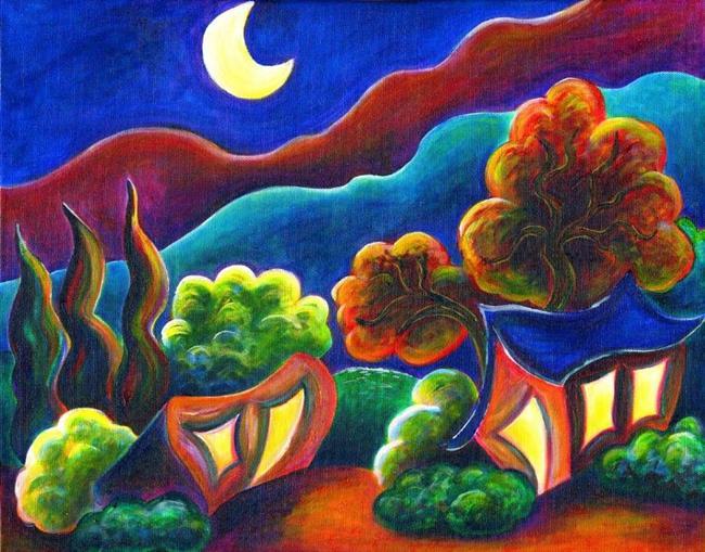 Art: Just Outside La Garita by Artist Christine Wasankari