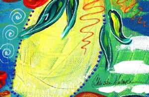 Detail Image for art Bistro Floral 1