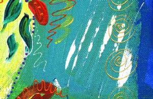 Detail Image for art Bistro Floral 3