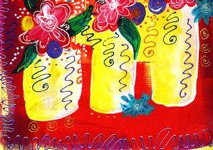 Detail Image for art Bistro Florals ~ Celebrate