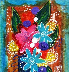 Detail Image for art Bistro Florals ~ 6