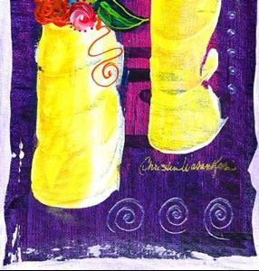 Detail Image for art Bistro Florals ~ 7