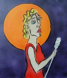 Art: GRAFFITI DIVAS by Artist Jen Thario