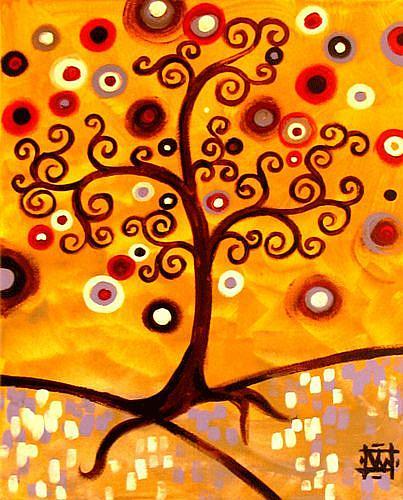 Art: Flourishing Tree by Artist Natasha Wescoat