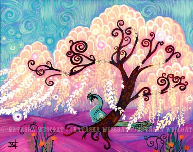 Art: White Willow by Artist Natasha Wescoat