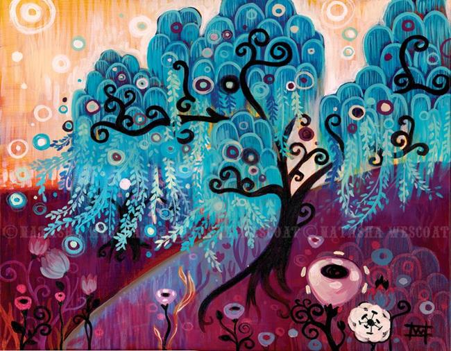 Art: Blue Willow by Artist Natasha Wescoat