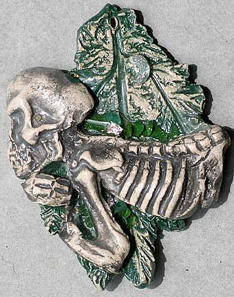 Art: Hangin from a limb by Artist Deborah Sprague