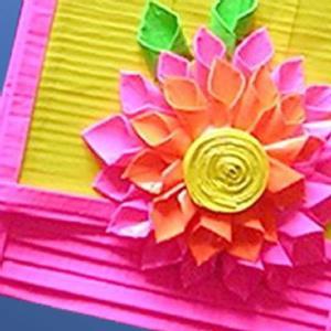 Detail Image for art Dahilia Dreamer purse