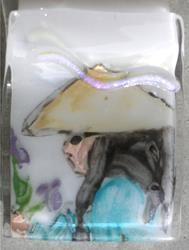 Art: Beauty in glass by Artist Deborah Sprague