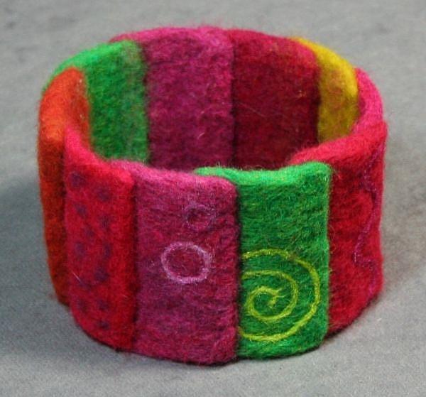 Art: quilt_bracelet2.jpg by Artist Harlan
