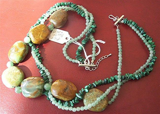 Art: Turquoise Necklace by Artist Ulrike 'Ricky' Martin