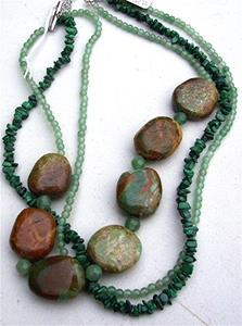 Detail Image for art Turquoise Necklace
