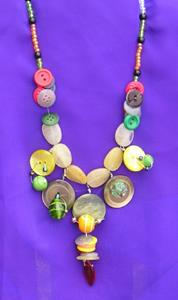 Detail Image for art Button Galore Necklace