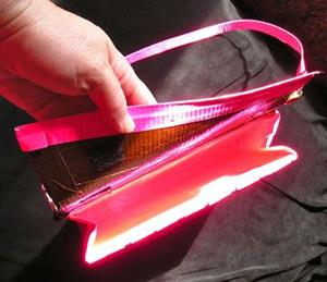 Detail Image for art Brown and Pinky purse duct tape