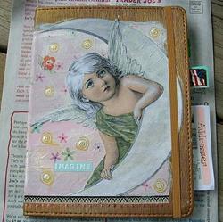 Art: Angel Journal-Sold by Artist Sherry Key