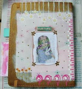 Detail Image for art Angel Journal-Sold