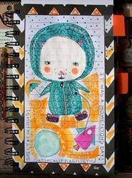 Art: Pee In Suit Please by Artist Sherry Key