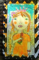 Art: Home Alone by Artist Sherry Key