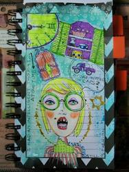 Art: Untimely Thoughts by Artist Sherry Key