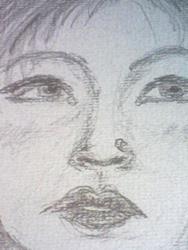 Art: Jenny I sketch blog by Artist Julie Jules