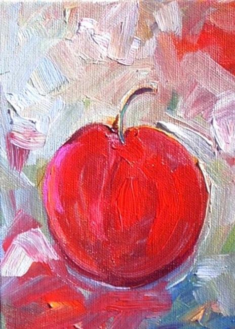 Art: Just a Cherry by Artist Deborah Sprague