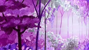 Detail Image for art PURPLE FOREST
