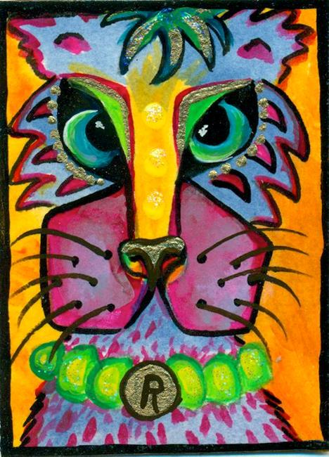 Art: #28 Cat People by Artist Ke Robinson
